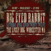 Saturday April 7, 2012 at The Lucky Dog Music Hall (debut show)