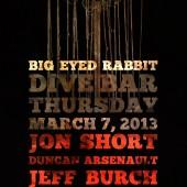 Big Eyed Rabbit at The Dive Bar